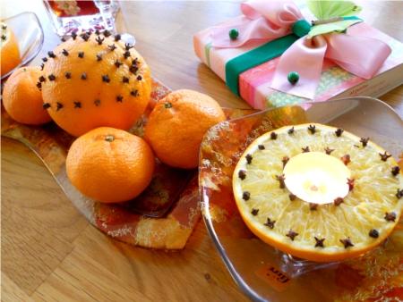 decoratiune cu portocale