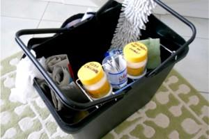 Organizarea produselor pentru curatenie