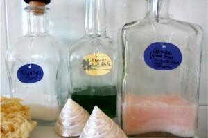 Sticle pentru cosmetice