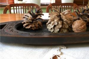 Decoratiuni de toamna cu materiale naturale
