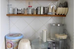 4. O bucatarie bine organizata - zona pentru prepararea prajiturilor