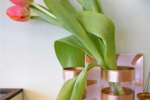 Cum sa auriti vase simple din sticla si ceramica