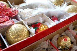 Organizarea decorațiunilor de iarnă