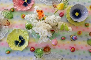 Masa colorata de Paste