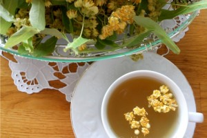 Florile de tei - din gradina in casa