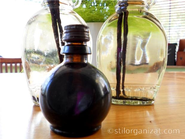 sticluta pentru vanilie