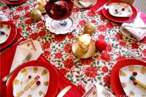 Daca nu ai un serviciu de masa pentru zile festive, realizeaza-l singur!