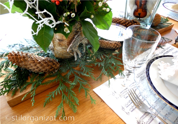 musical tablescape