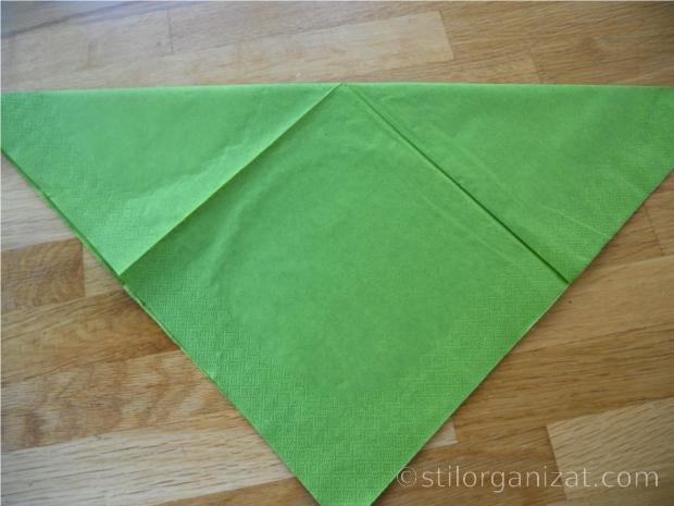Origami din servetel 12