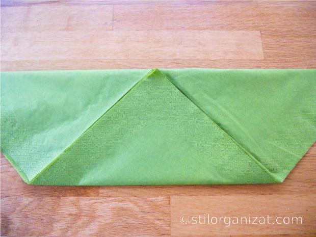 Origami din servetel 13