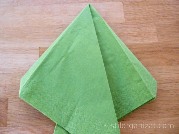 Origami din servetel 14