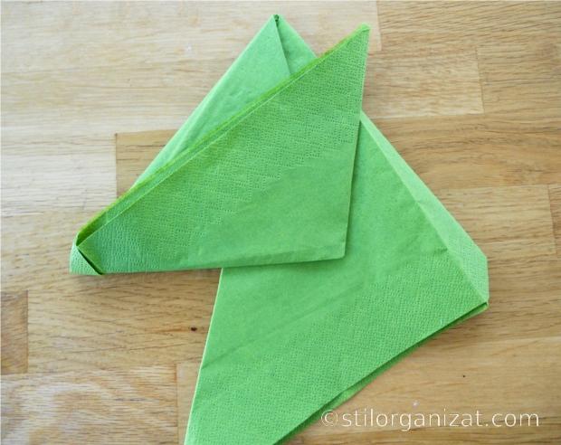 Origami din servetel 15