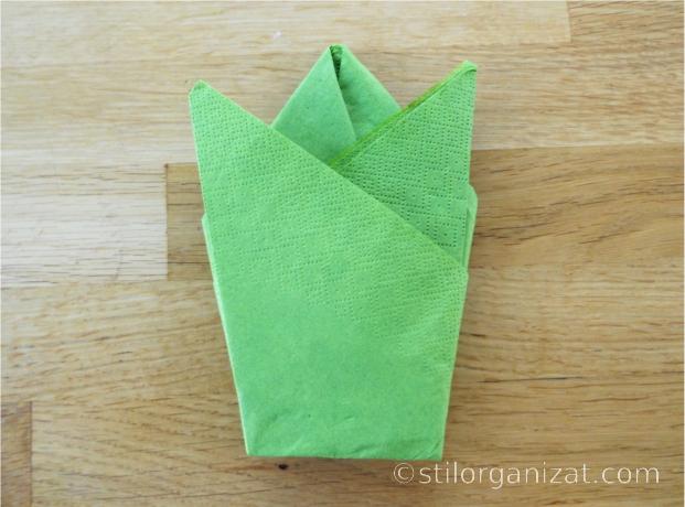 Origami din servetel 17