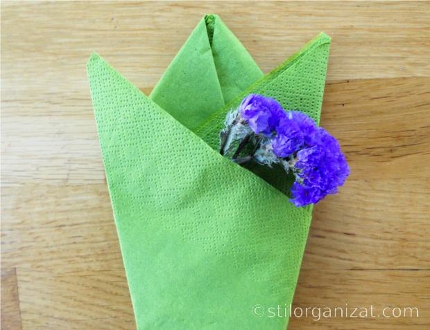 Origami din servetel