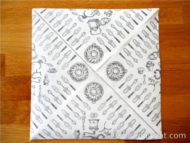 Origami din servetel 2