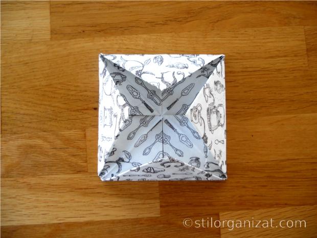 Origami din servetel 4