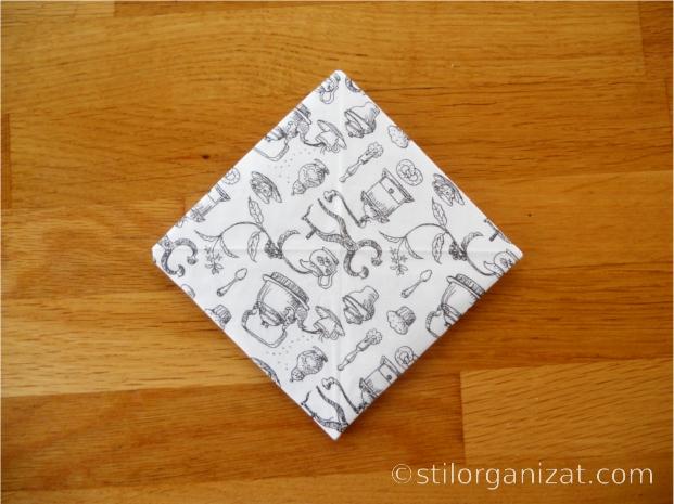 Origami din servetel 5