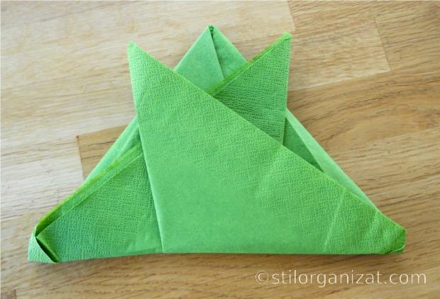 origami din servetel 16