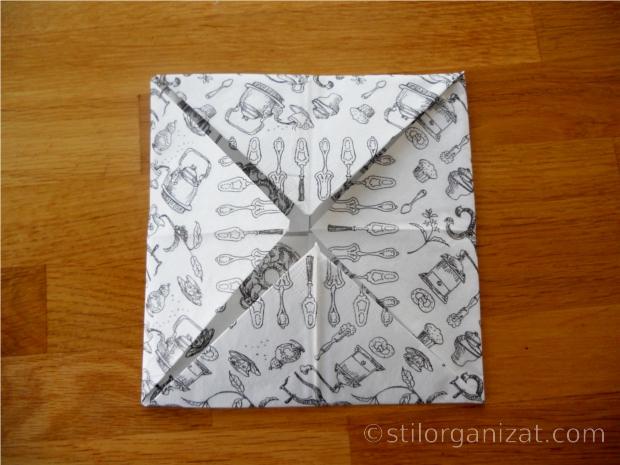origami din servetel 3