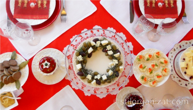 Cristmas Tablescape