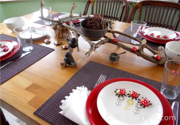 Ladybird Tablescape