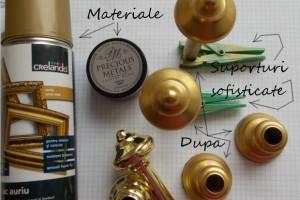 Cum sa schimbi aspectul unui obiect auriu ieftin