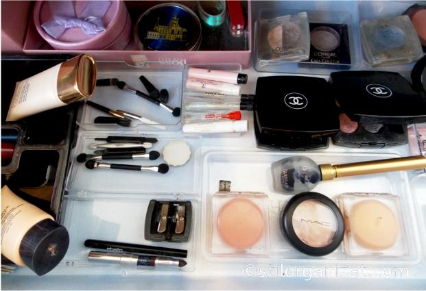 organizare cosmetice