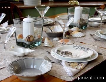 masa cu tema marina