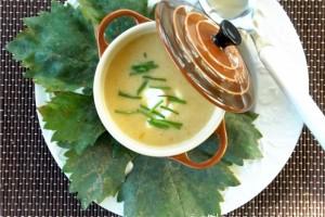 Supa crema - o portie de gradina in farfurie