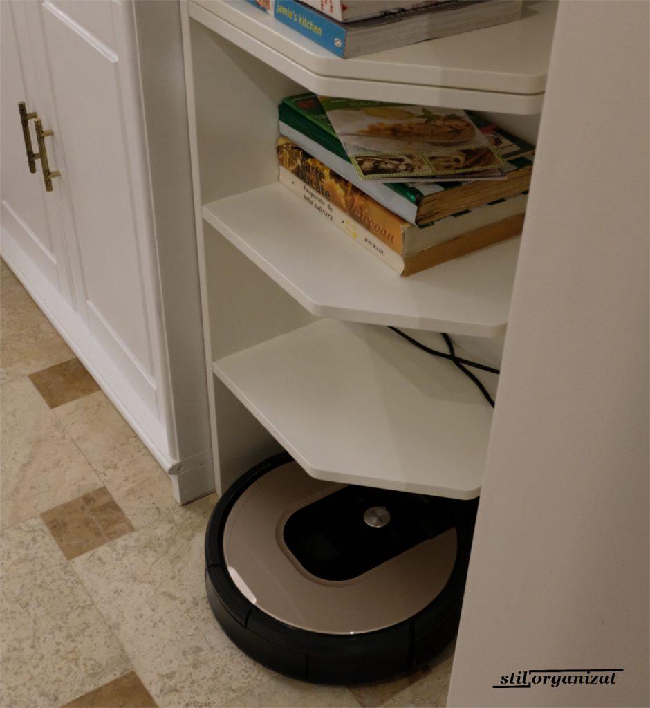 Robotul Roomba pentru întreținerea podelelor
