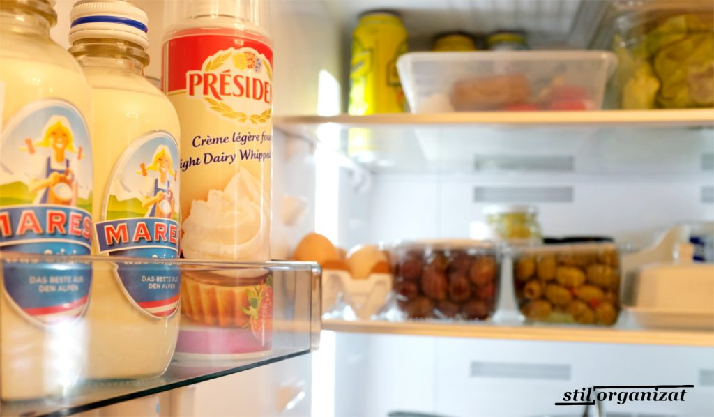 organizarea frigiderului de facut in noiembrie