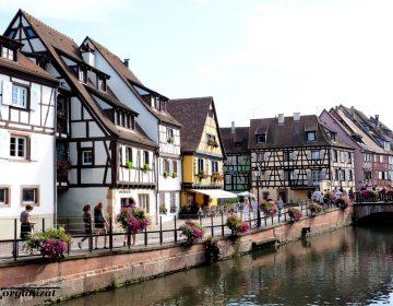 Colmar- calatorie in Alsacia