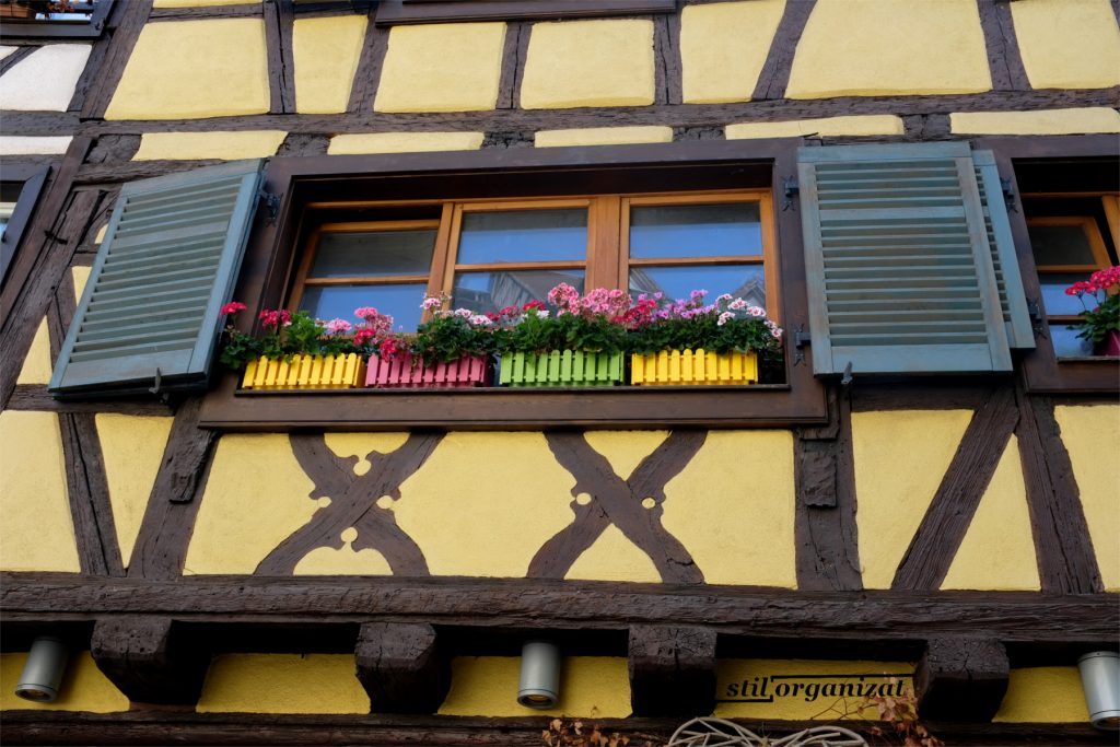 Fereastra colorata in Colmar