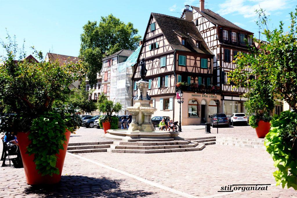 Piata in Colmar