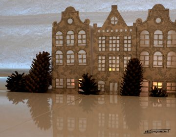 luminite festive cu case