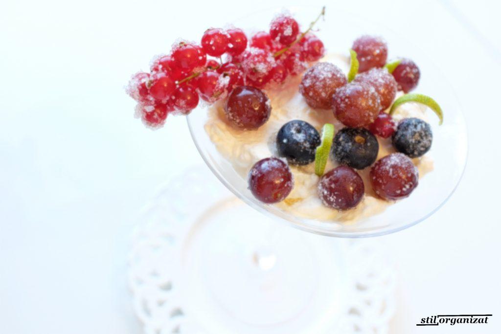 crema cu fructe brumate