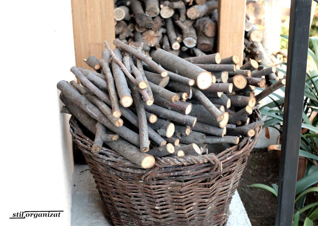 cosuri cu lemne - imbunatatiri in gradina
