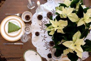 Masă albă de Crăciun
