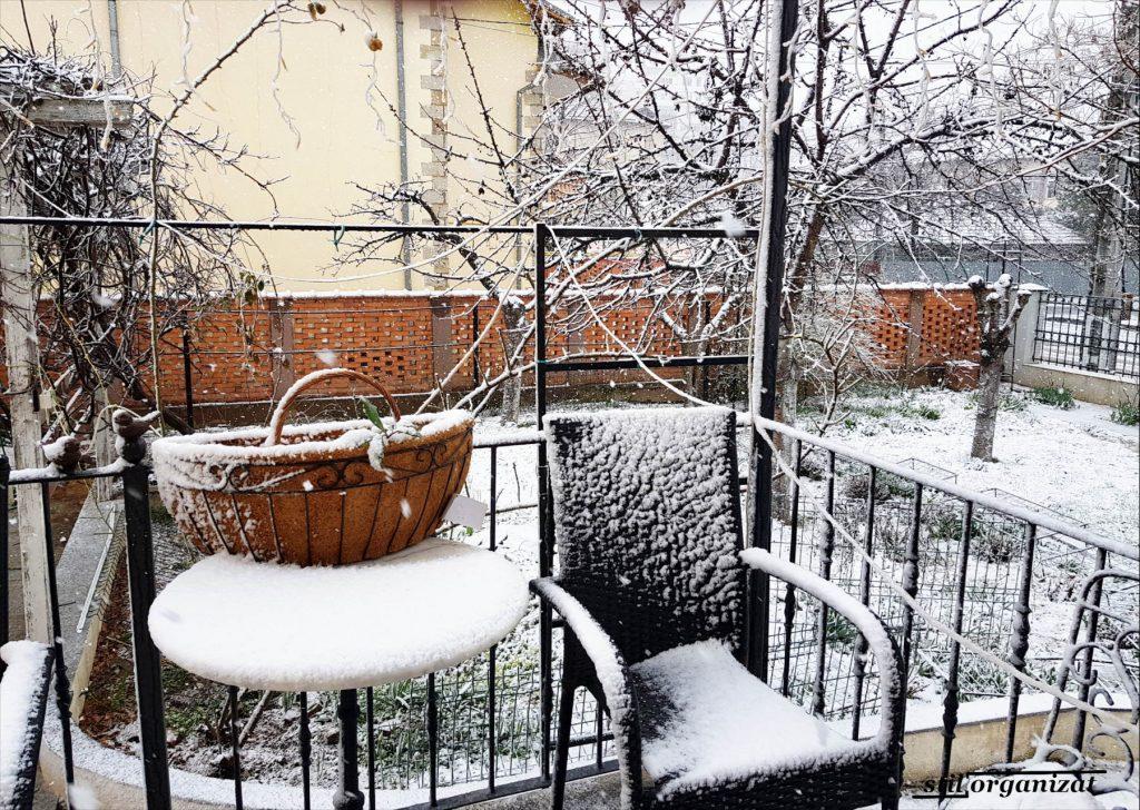 iarna in martie
