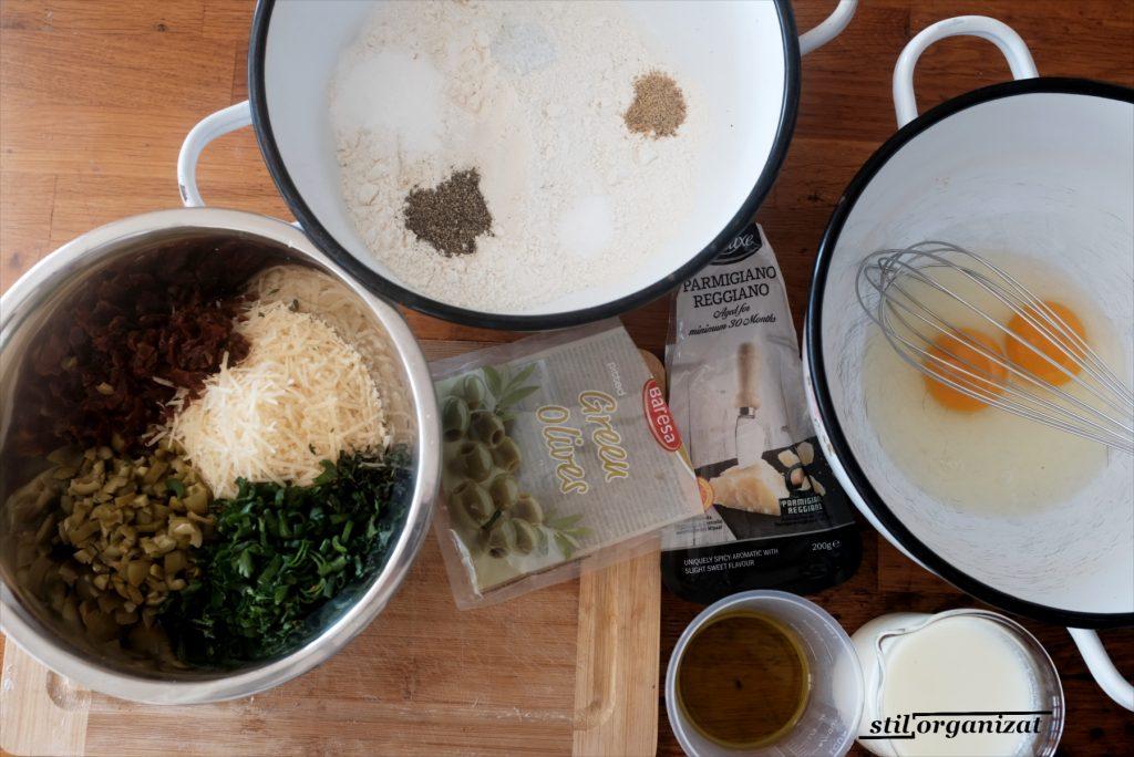 ingrediente pentru paine cu mirodenii